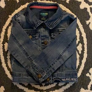 Oshkosh Denim Jacket-Toddler Girl 2T